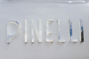 The Pinelli Motor Yacht logo