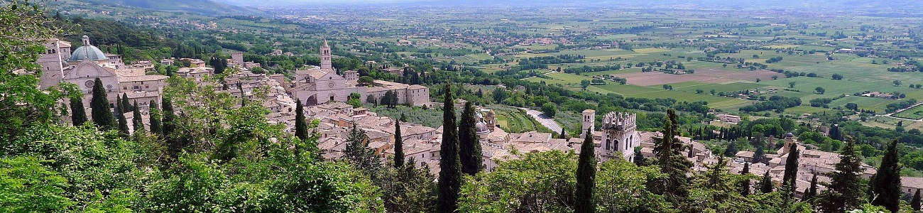 Assisi, Umbria. Often called the country's green hear, Umbria in central Italy is popular with buyers of Italian second homes for its medieval hill towns, art, forests, local cuisine and wine.